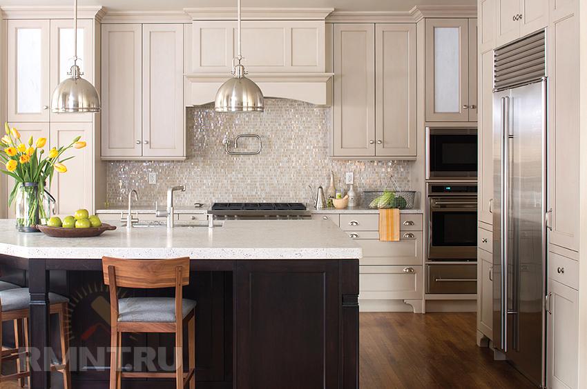 7 вариантов дизайна, как многие думают, кухонного фортюка