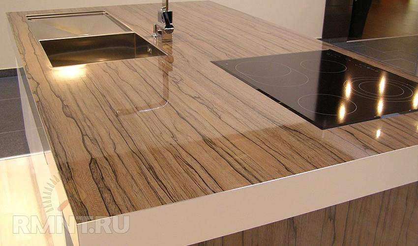 Столешница ламинированная кухонная столешница платина 4537/7