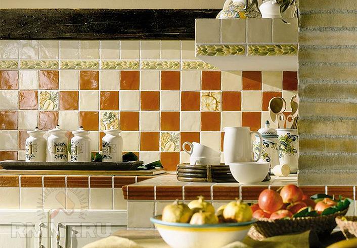 7 вариантов дизайна, как многие выражаются, кухонного фартука
