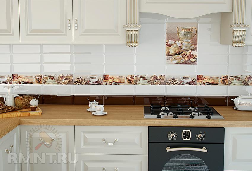 Кухонная плитка фото