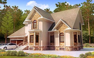 дизайн загородных домов и коттеджей фото снаружи
