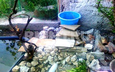 Как сделать пруд с каскадом и самодельным фильтром очистки RMNT.RU