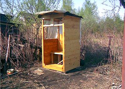 как построить деревянный туалет на даче своими руками поэтапно