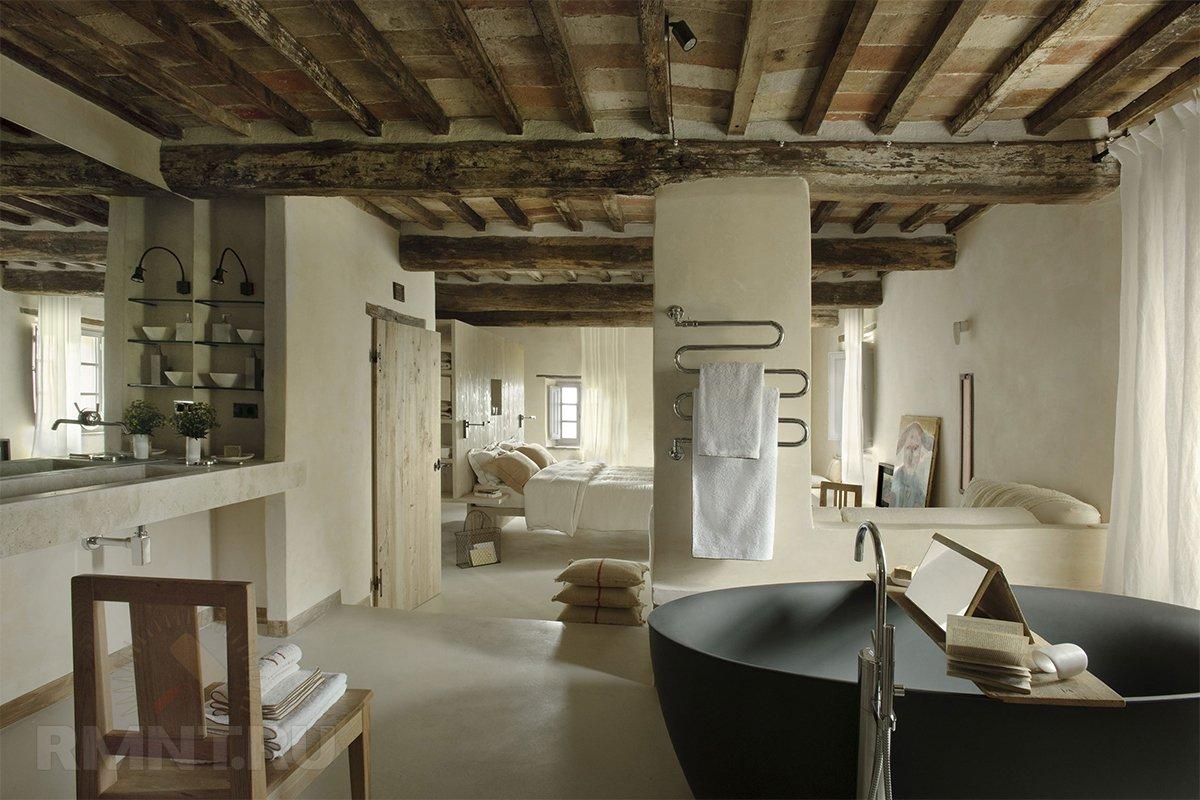 Балочный потолок в современном интерьере