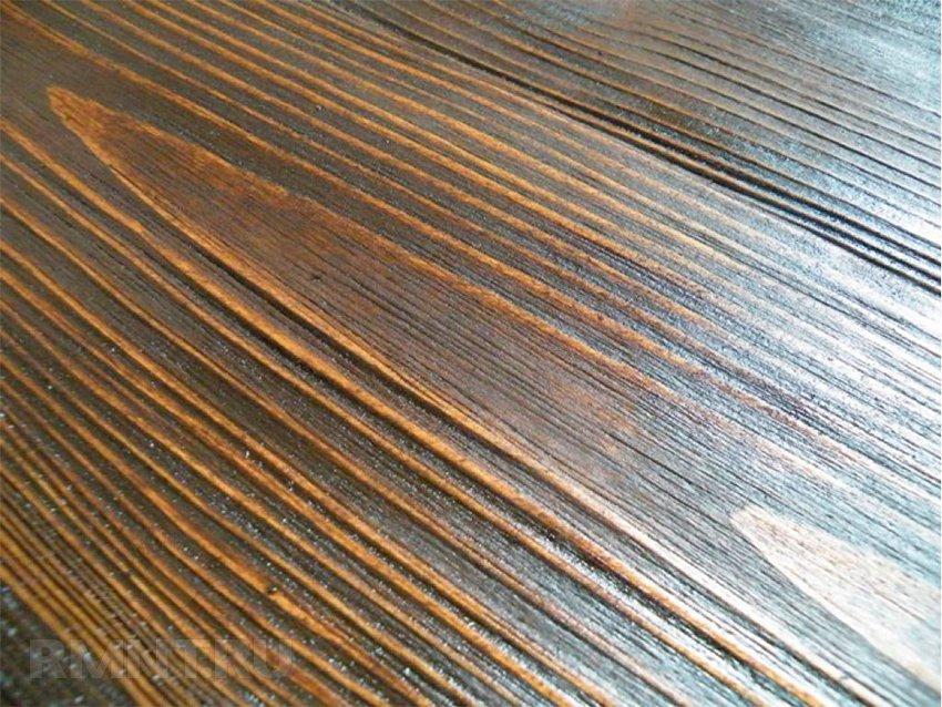 Как состарить деревянную мебель