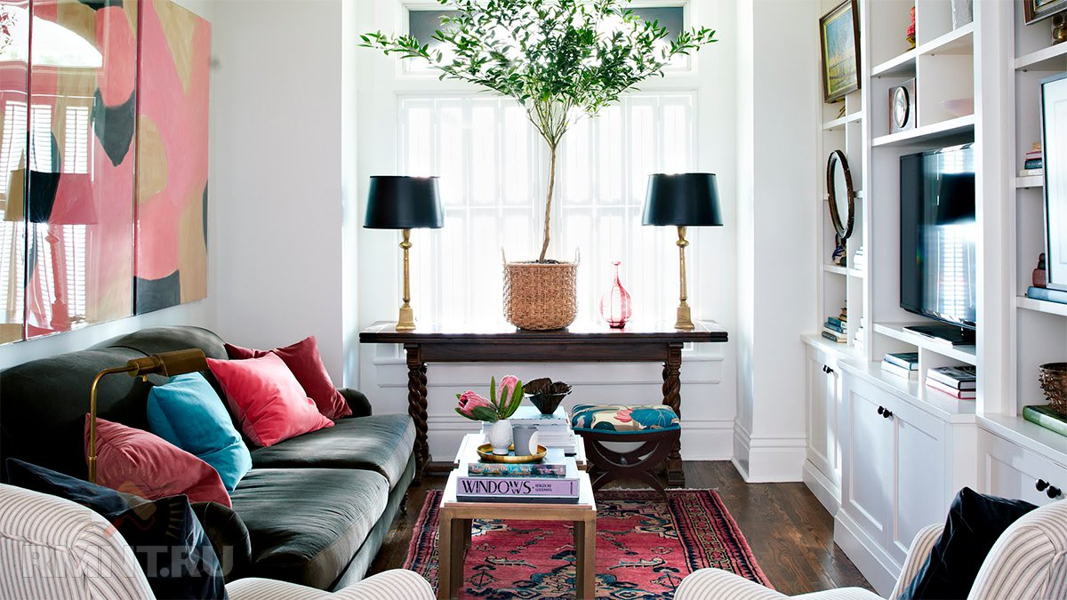 Маленькая гостиная: 10 советов по обустройству