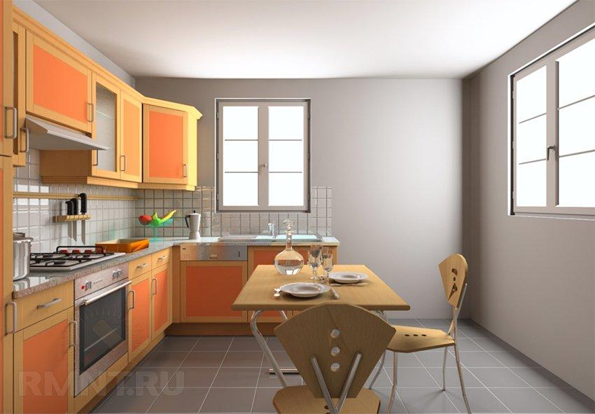 Визуализация в KitchenDraw