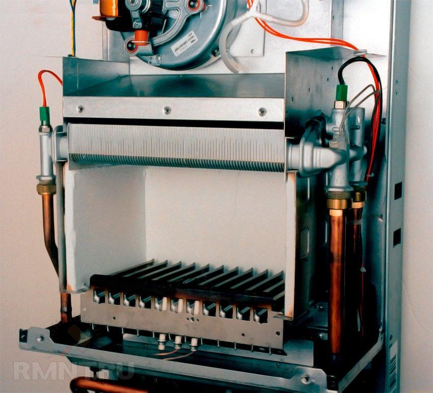 Чистка газового настенного котла