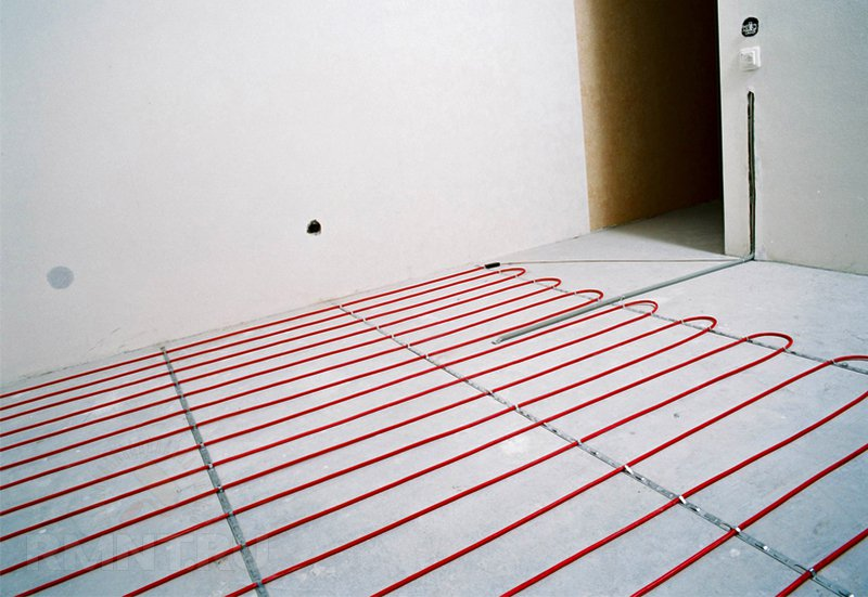 Электрический теплый пол под плитку своими руками
