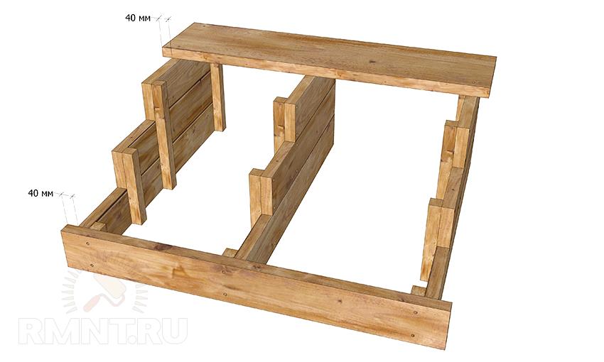 Деревянные ступени для лестниц своими руками 75