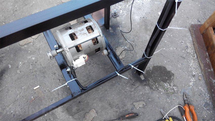 Вибростол для тротуарной плитки своими руками, пошаговая инструкция