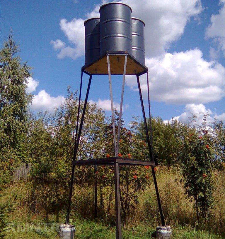 Построить водонапорную башню своими руками