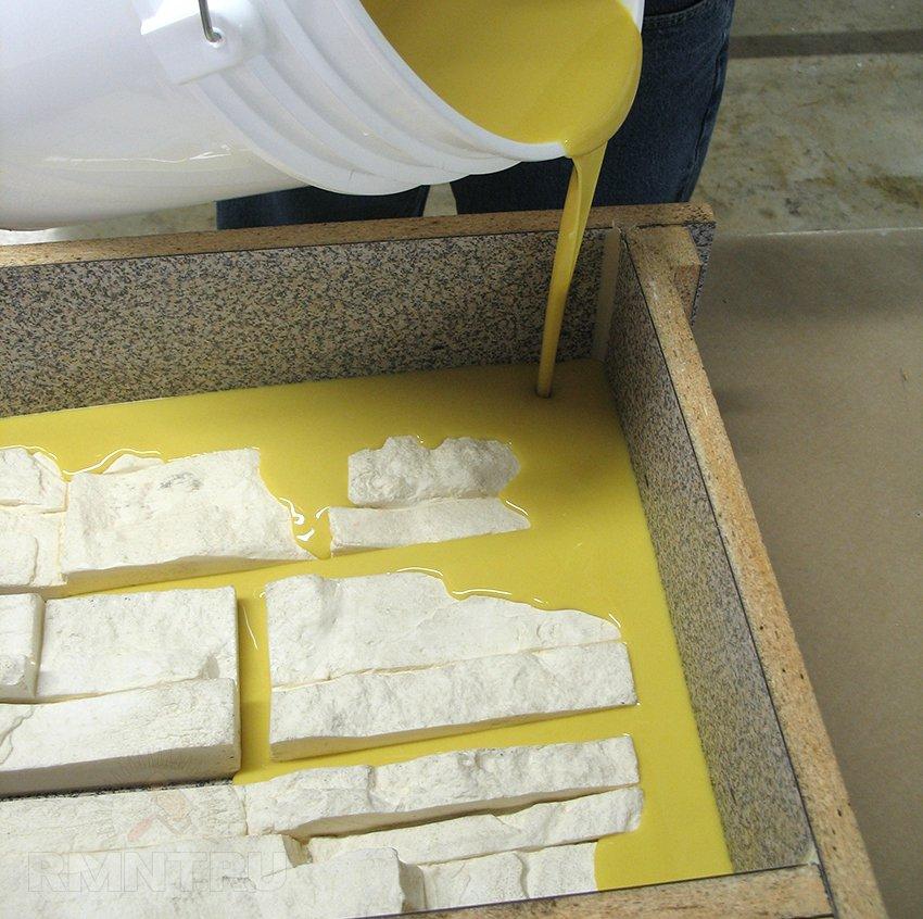 Форма для камня в домашних условиях 625