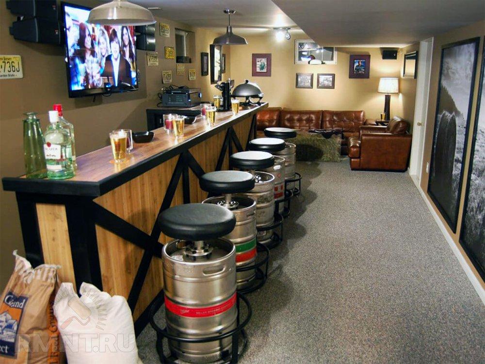 Домашней бар — идеи обюстройства
