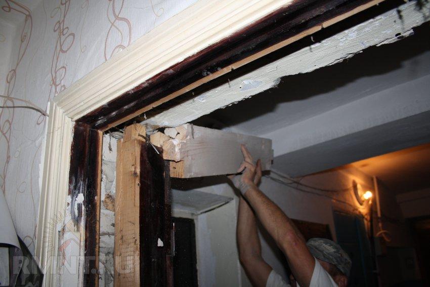 Демонтаж дверного проема своими руками 26