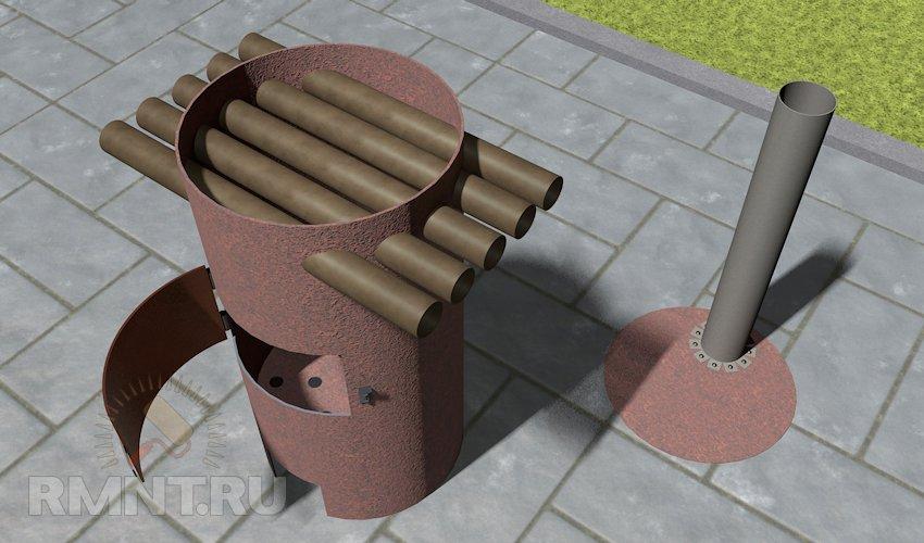 Как сделать домик из коробки своими руками, кукольный 46