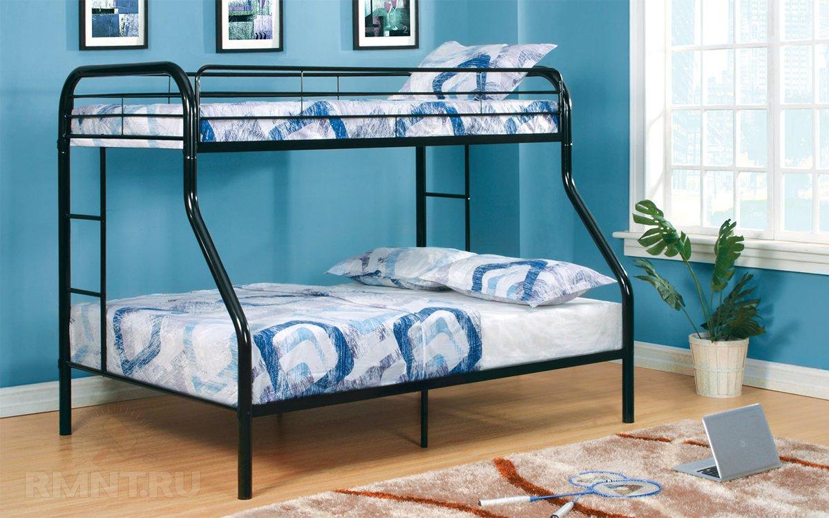 Удачное решение для детской — двуэтажная кровать