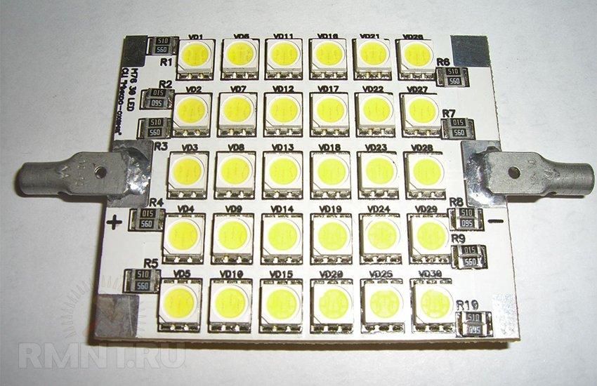 Светодиодная матрица для прожектора