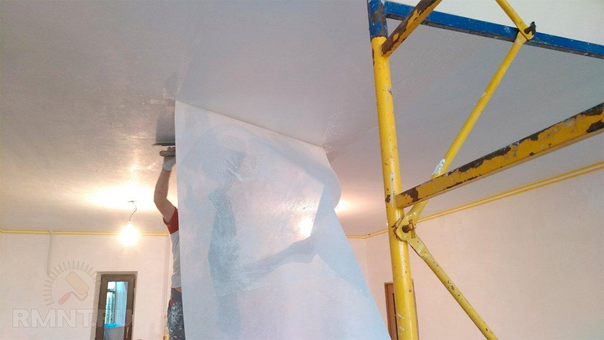 Преимущества и недостатки использования стеклохолста под покраску