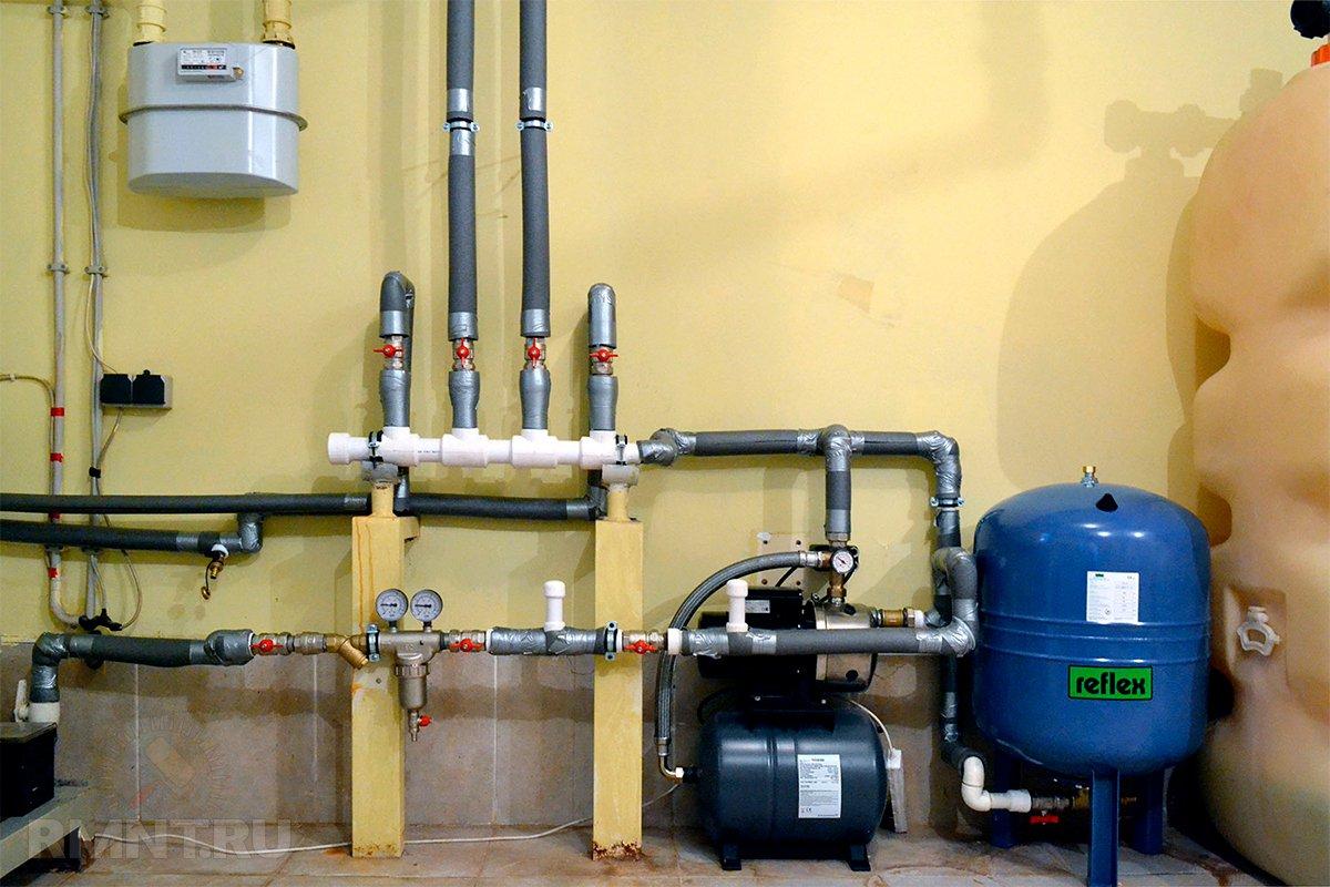 Редуктор давления воды схема