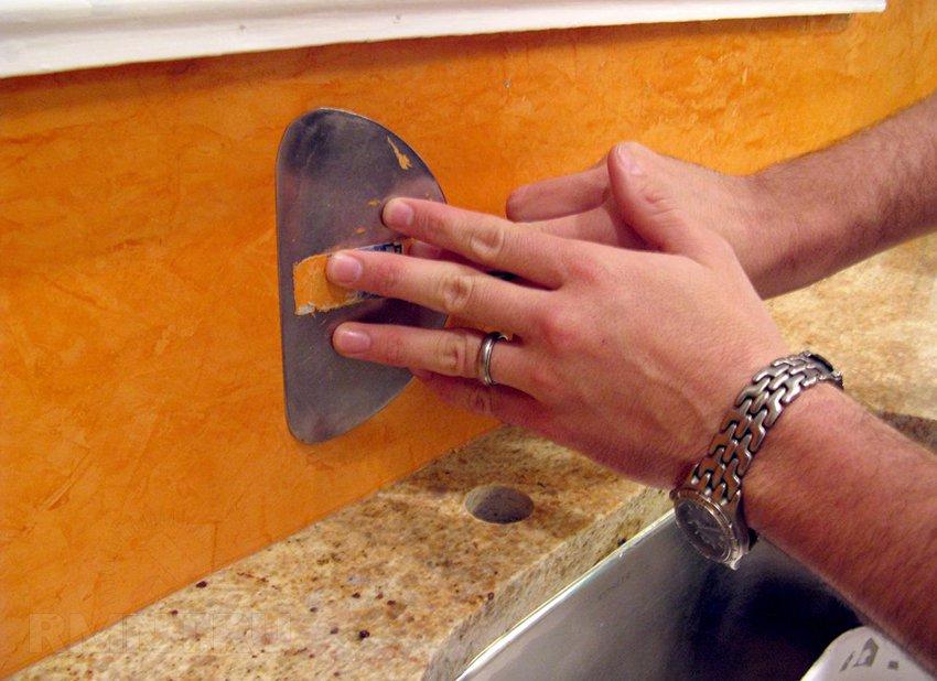 Материал для венецианской штукатурки своими руками