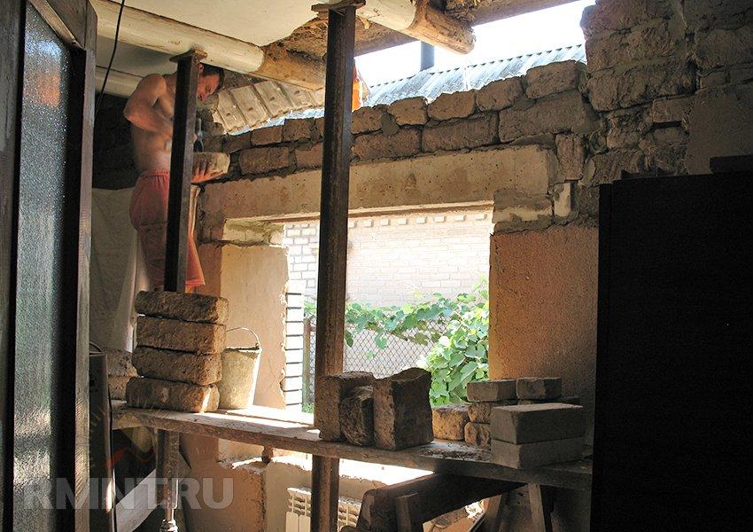 Поднимаем крышу дома