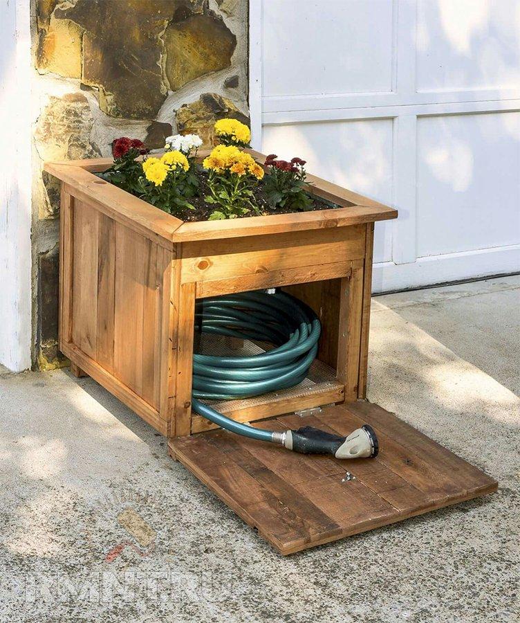 Идеи для хранения садового инвентаря