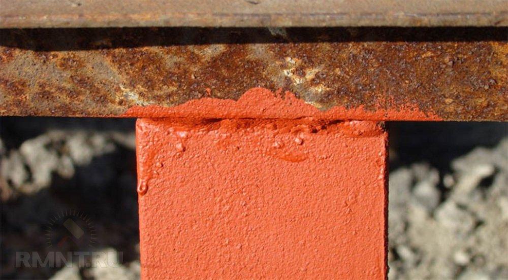 чем покрасить ржавое железо без обработки