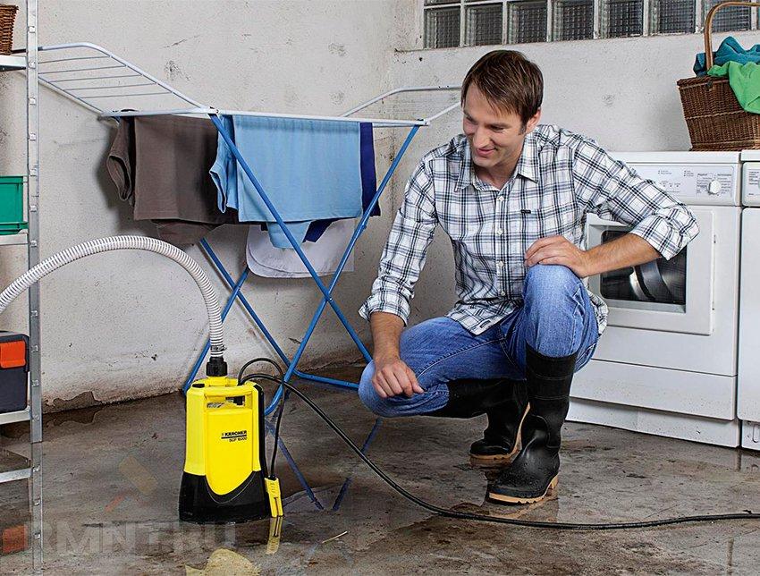 Откачка воды из подвала: как бороться с подтоплениями дома грунтовыми водами
