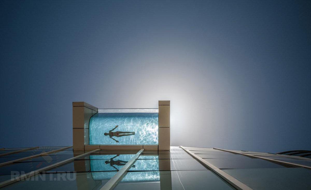 Консольные бассейны: особенности, фотопримеры