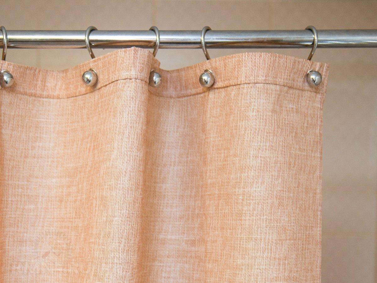 Карниз для шторы в, кок заведено выражаться, ваннюю