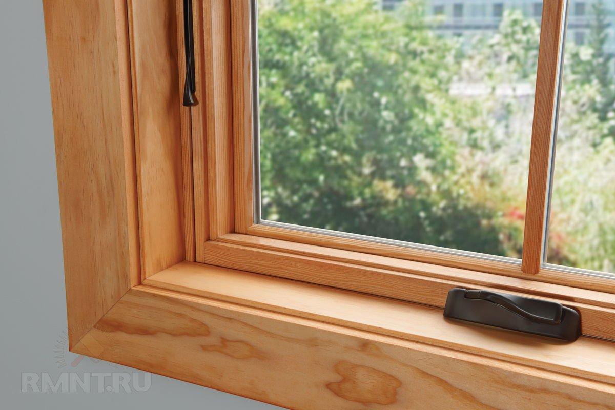 Виды современных деревянных окон