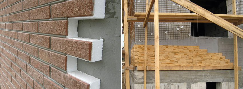 Отделка мокрого фасада