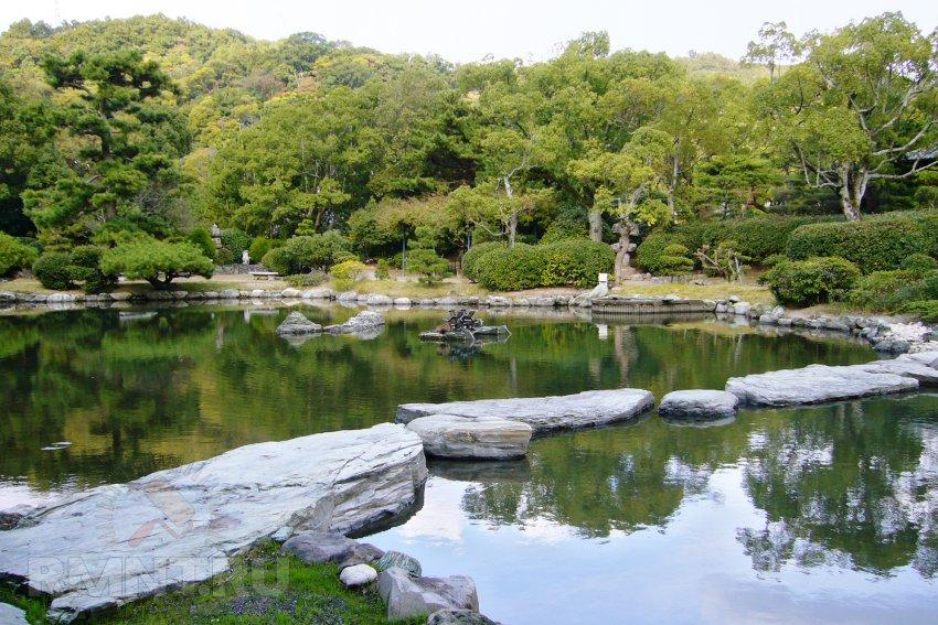 Японский сад — классический образец этнического стиля в ландшафтном дизайне