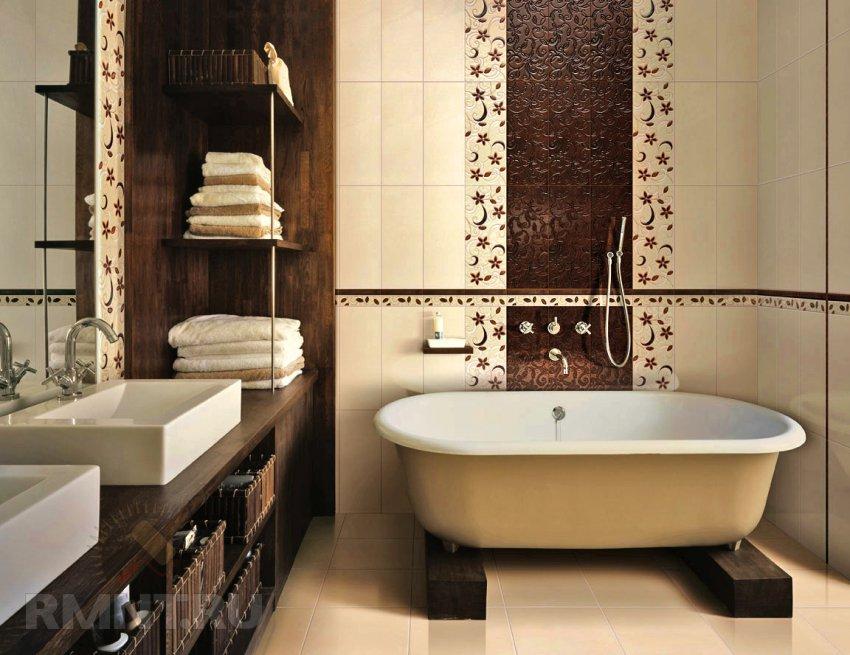 Как сделать ванну с мозаики
