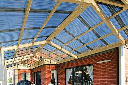 Крыша из поликарбоната видео
