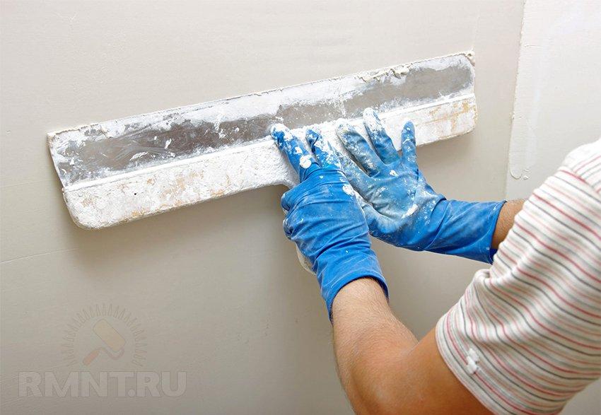 Шпаклёвка потолка под покраску своими руками фото 570