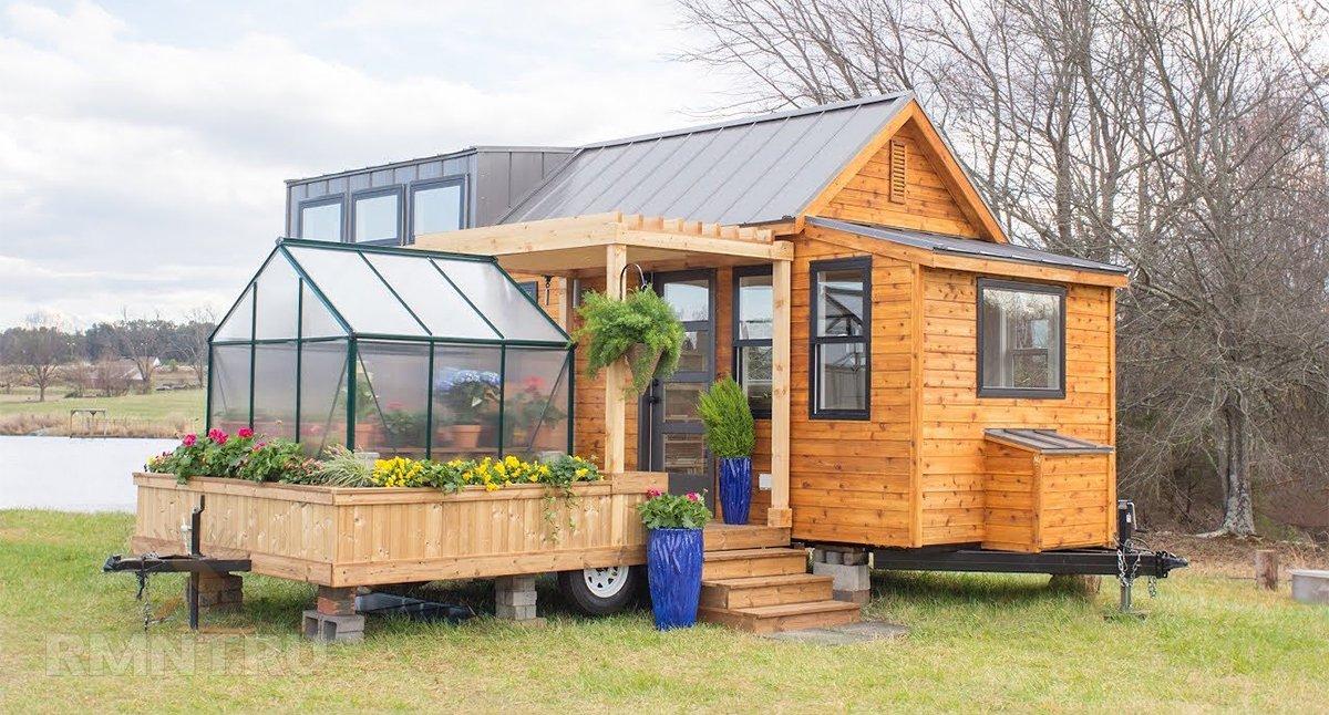 Tiny House: особенности, примеры обустройства