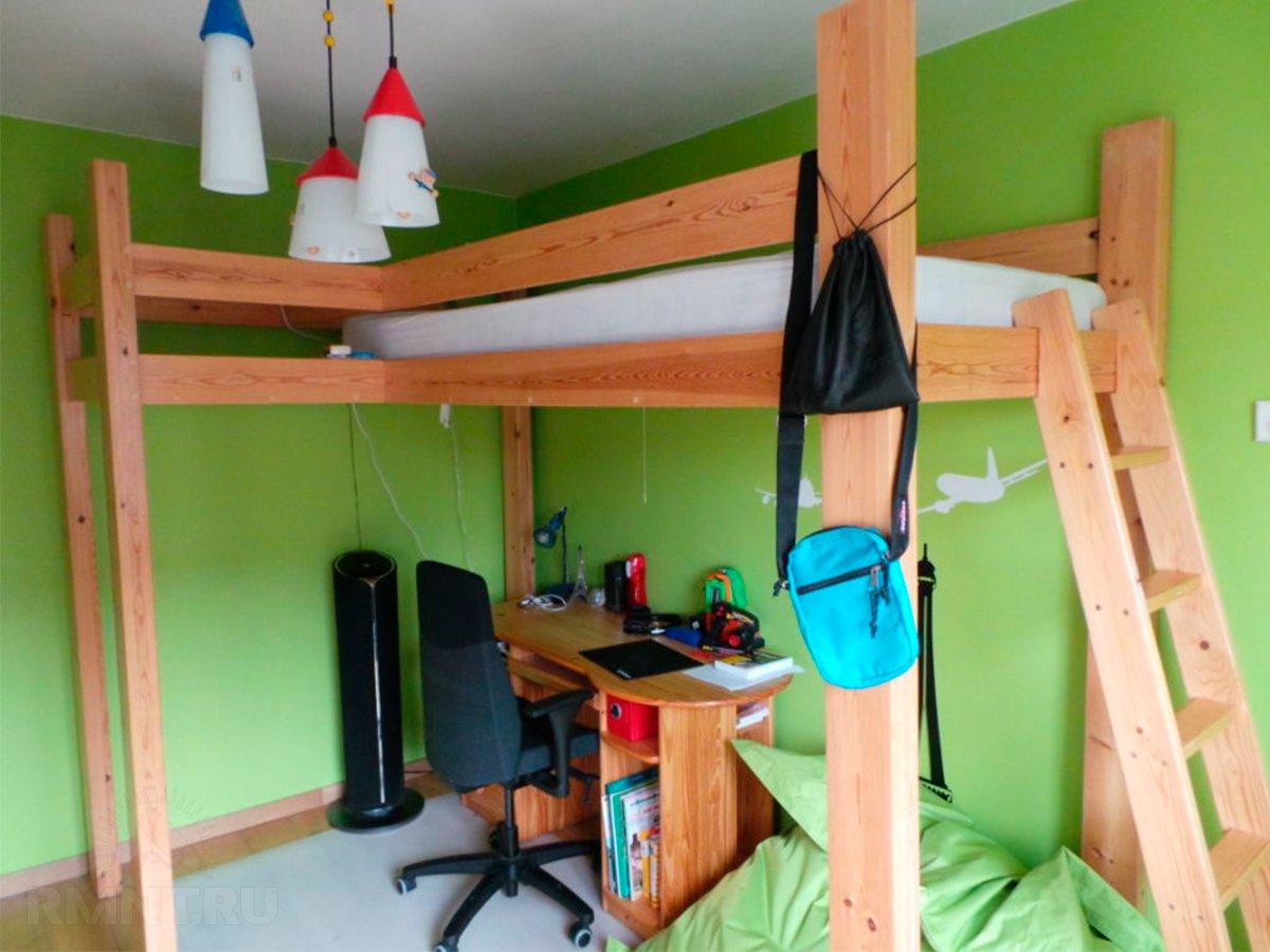 Как сделать деревянную кровать 190