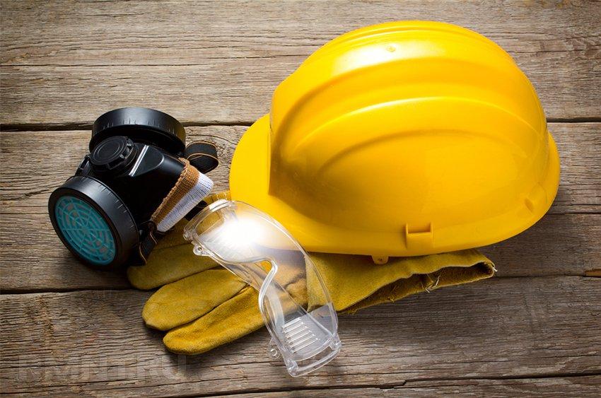 Средства индивидуальной защиты при ремонте