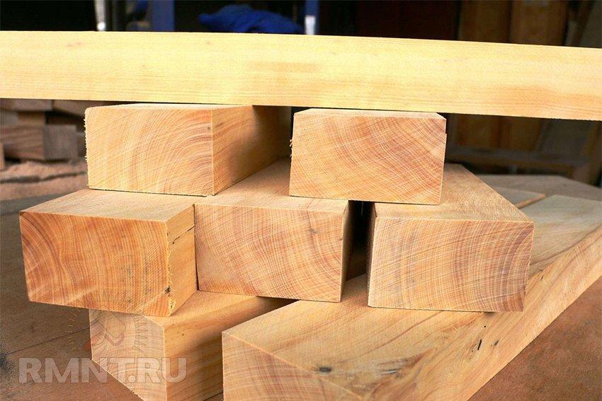 Свойства древесины твердых пород
