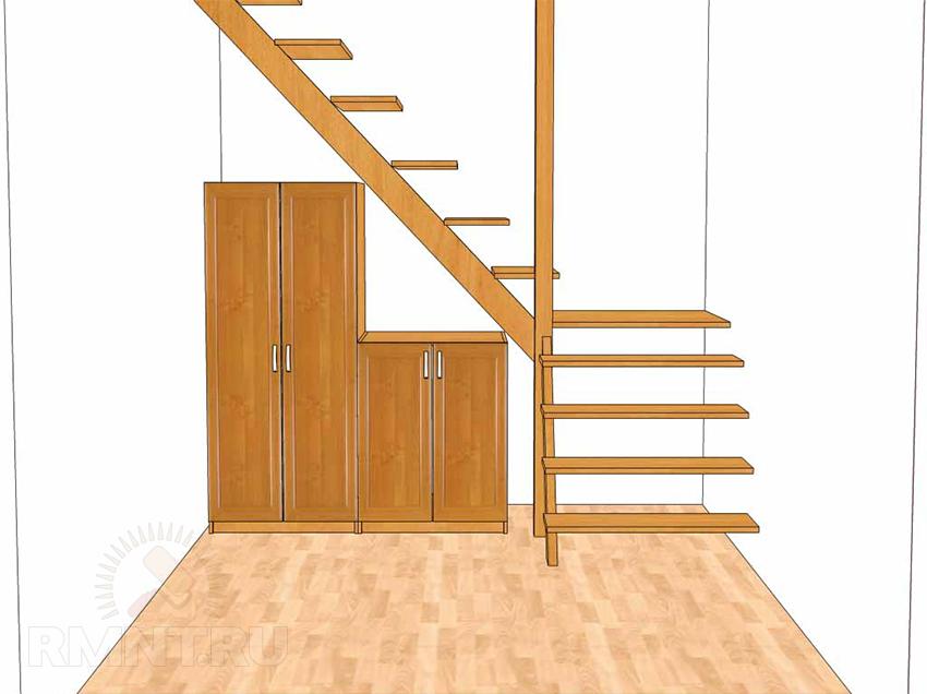 Проектирование лестницы в PRO100