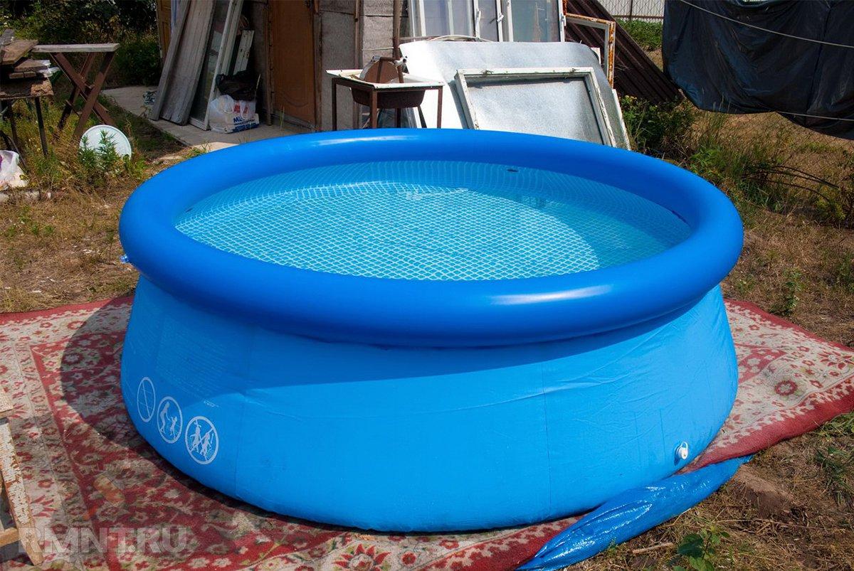 Методы очистки воды в бассейне