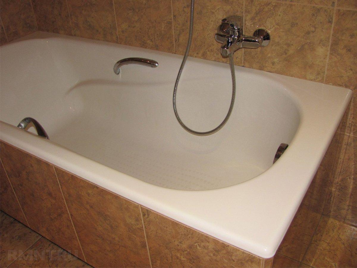 Установка ванны своими руками