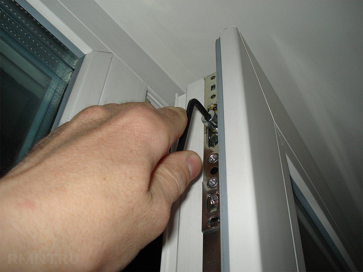 Смазка механизма пластиковых окон своими руками