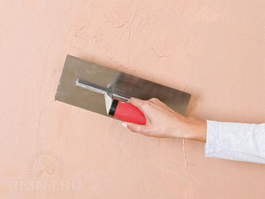Финишное оштукатуривание стен своими руками 16
