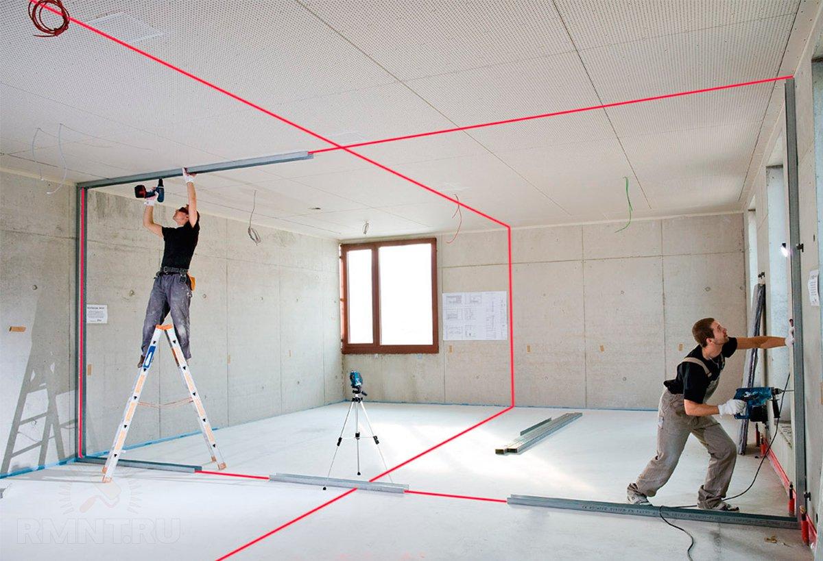 Лазерный построитель плоскостей: как выбрать уровень