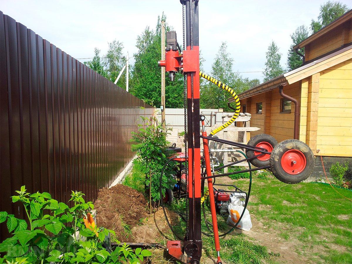 Оборудование скважины под воду своими руками
