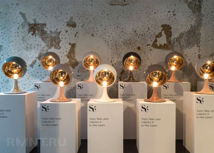 Выставка в Милане 2014. Светильники