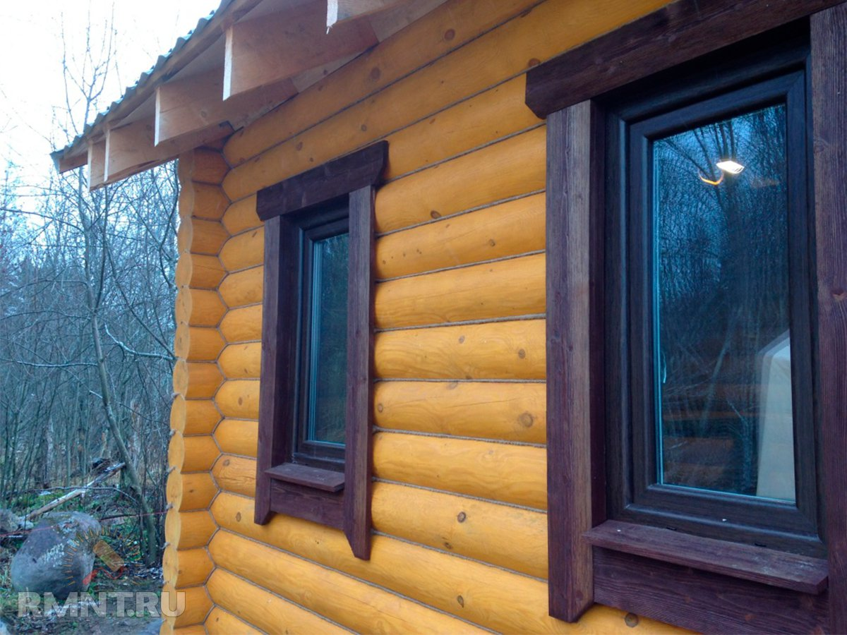 Отделка окон в деревянном доме своими руками фото 37